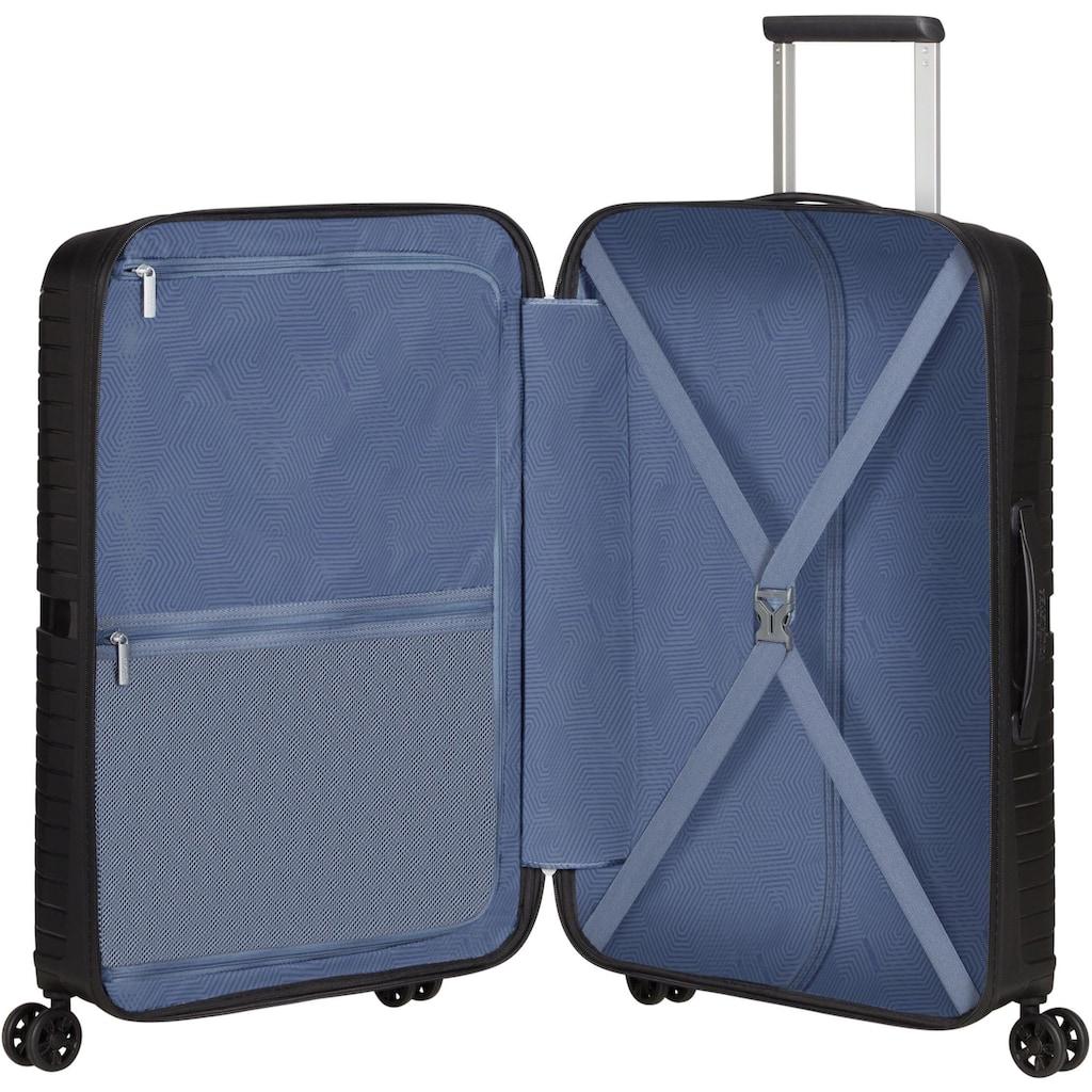 American Tourister® Hartschalen-Trolley »Airconic, 67 cm, onyx black«, 4 Rollen