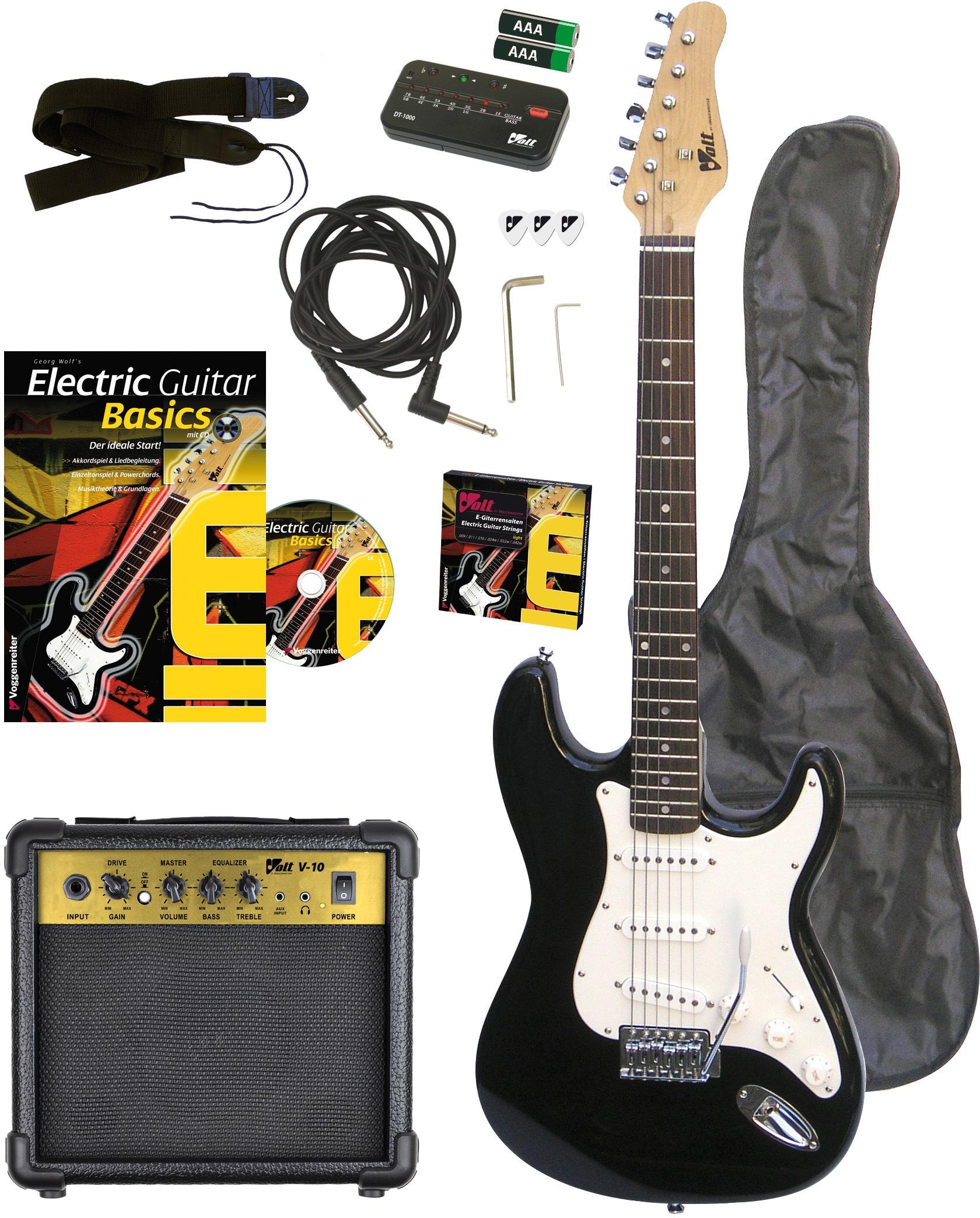 voggenreiter e gitarre volt e gitarren set eg 100 auf. Black Bedroom Furniture Sets. Home Design Ideas