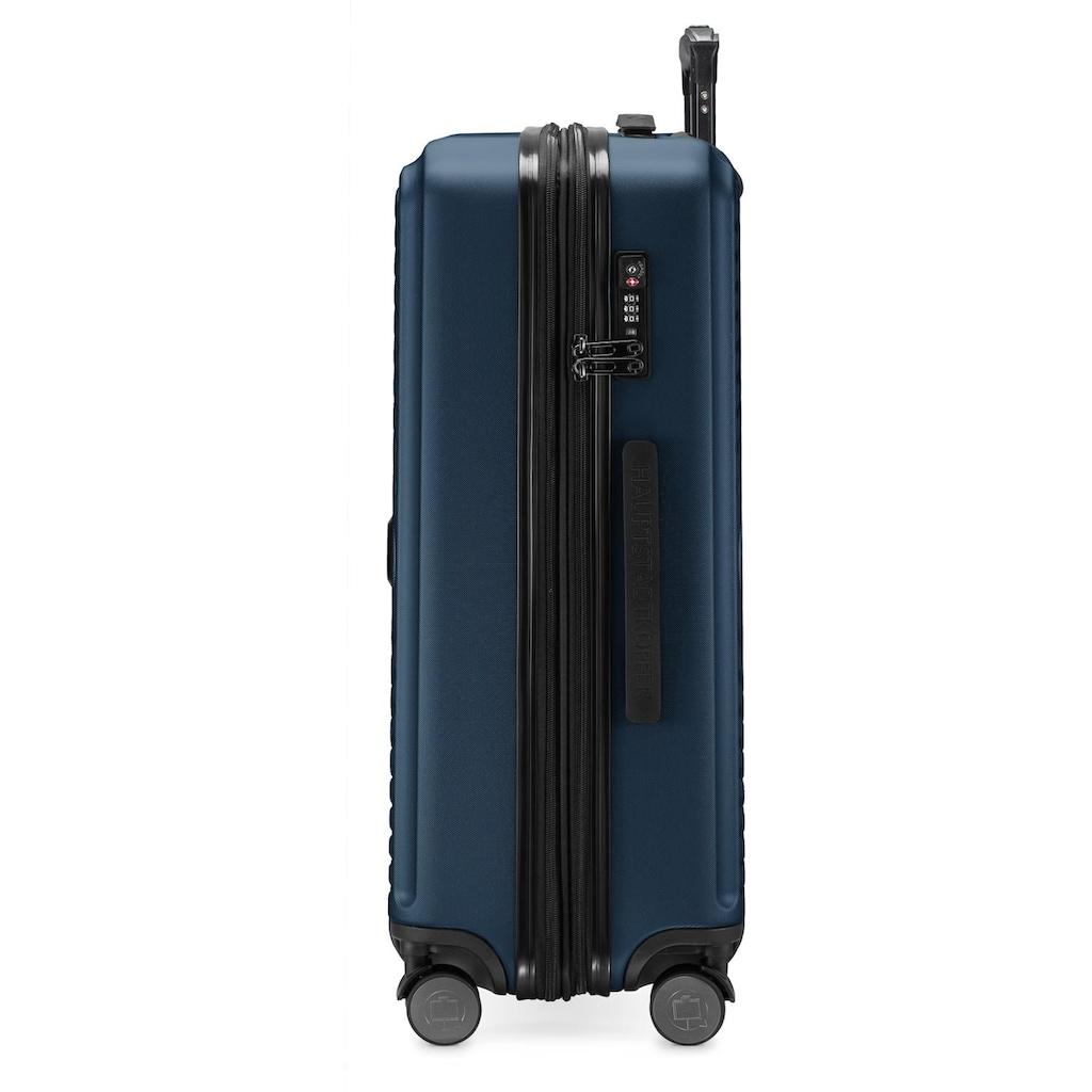 Hauptstadtkoffer Hartschalen-Trolley »Mitte, dunkelblau, 68 cm«, 4 Rollen