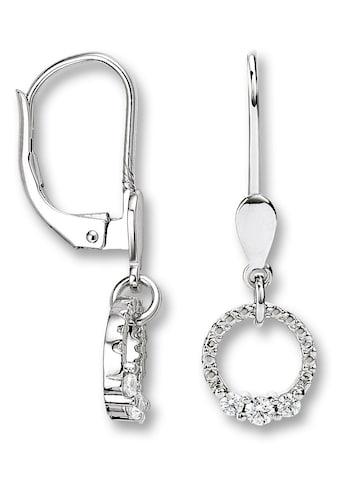 ONE ELEMENT Paar Ohrstecker »Ohrringe / Ohrhänger aus 333 Weißgold Zirkonia« kaufen