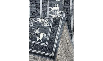 Teppich, »Senne«, DELAVITA, rechteckig, Höhe 7 mm, maschinell gewebt kaufen