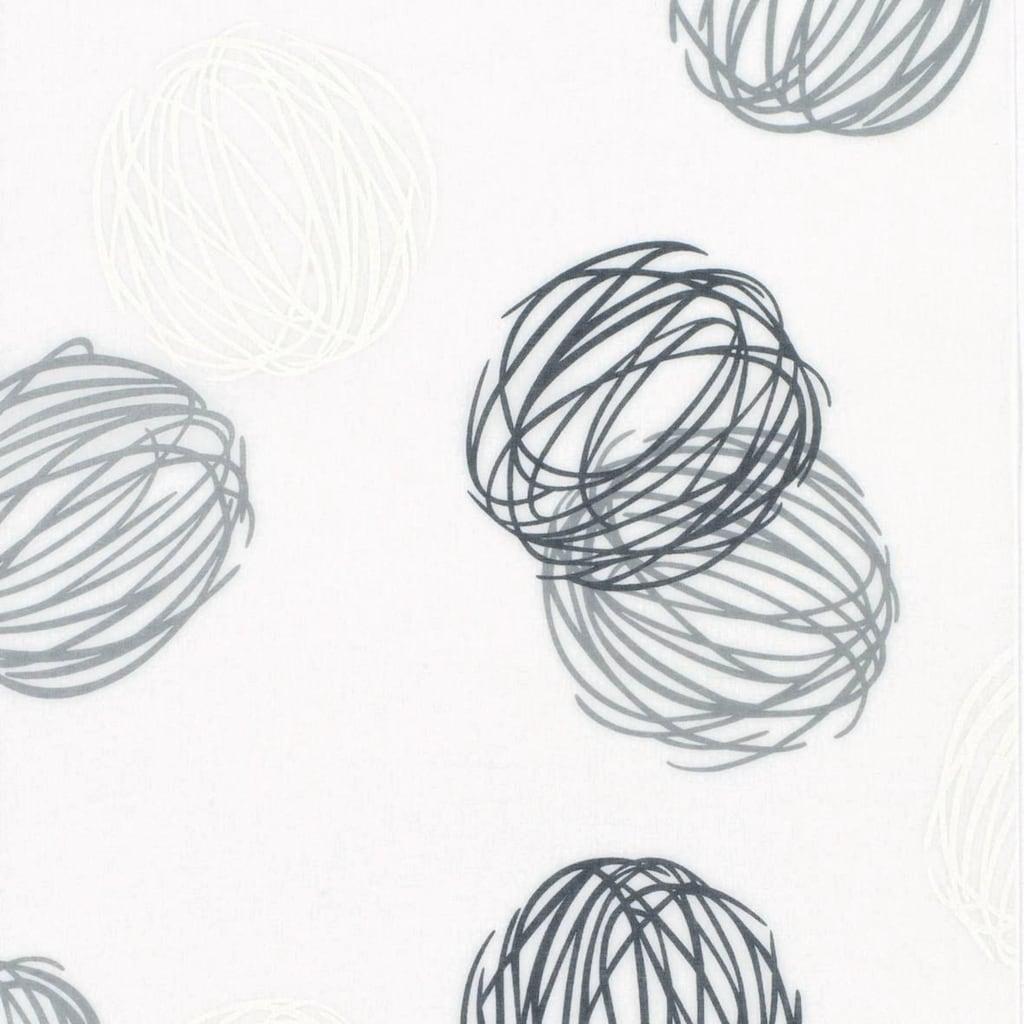 GARDINIA Schiebegardine »Flächenvorhang Stoff Knäuel«, HxB: 60x245