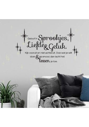 Wall - Art Wandtattoo »Liefde en Geluk Leuchtbilder« (1 Stück) kaufen