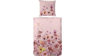 Primera Bettwäsche »Edelflanell-Bettwäsche Bloom«, Mit einem liebliche Blumenprint kaufen
