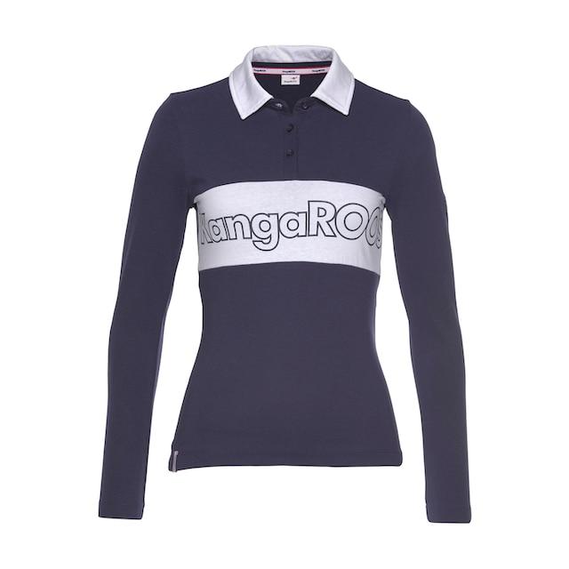 KangaROOS Langarm-Poloshirt