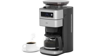 AEG Kaffeemaschine mit Mahlwerk »CM6-1-5ST Gourmet 6«, Permanentfilter, 1x4 kaufen