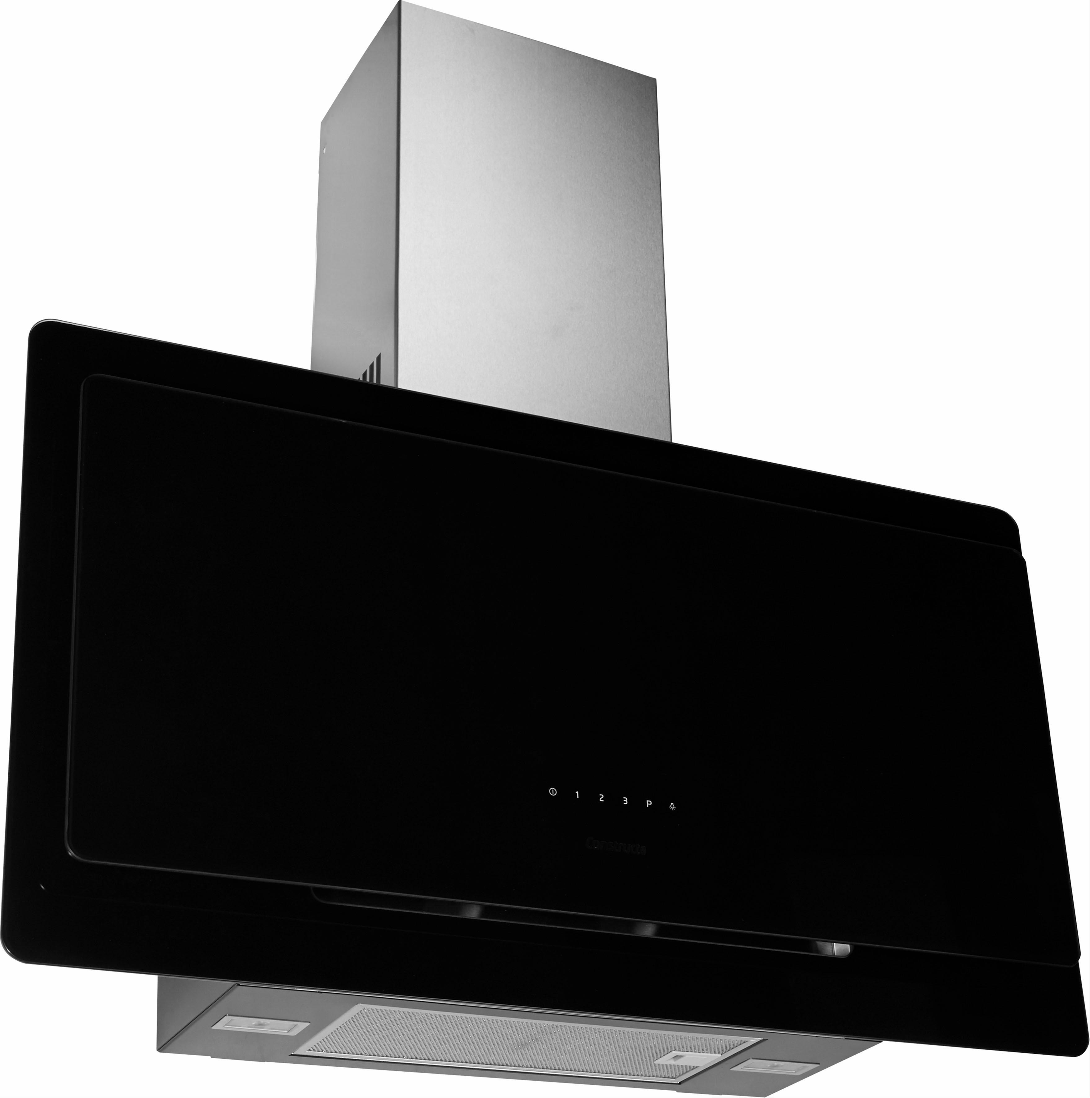 Constructa Kopffreihaube CD699860 EEK A schwarz Kopffreihauben Dunstabzugshauben Haushaltsgeräte Dunstabzugshaube