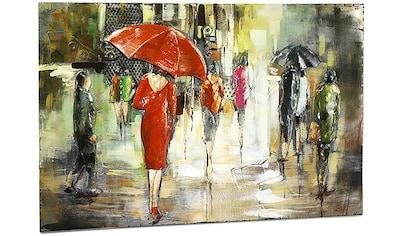 locker Metallbild »3D Regenschirm« kaufen