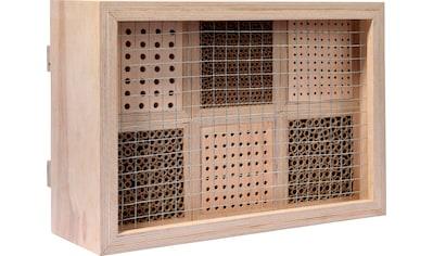 dobar Insektenhotel »Profi«, BxTxH: 45x15x31 cm, für Wildbienen kaufen