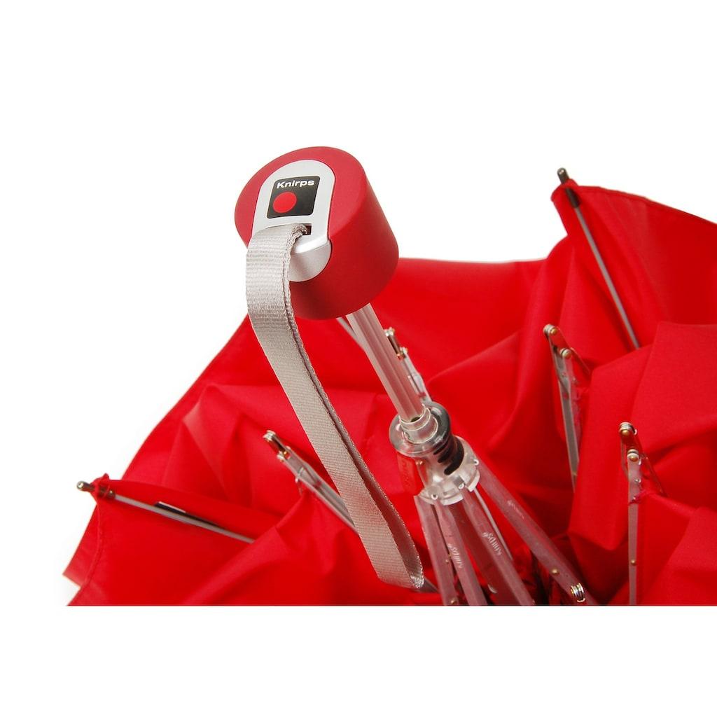 Knirps® Taschenregenschirm »Piccolo, rot«