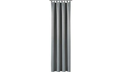 Gerster Vorhang »Jakob«, HxB: 235x140, Schlaufenschal mit Uniband, blickdicht kaufen
