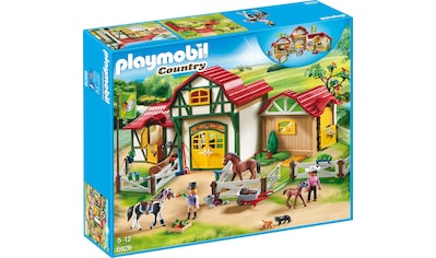 Playmobil® Konstruktions-Spielset »Großer Reiterhof (6926), Country«, Made in Germany kaufen