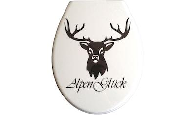 ADOB WC-Sitz »Alpenglück« kaufen