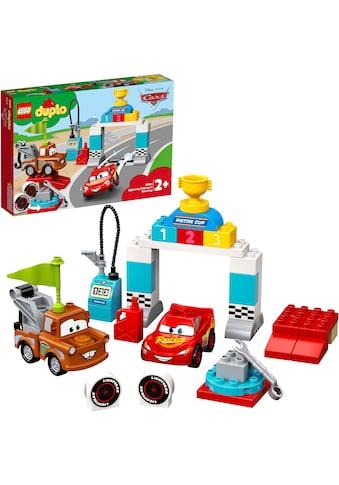 LEGO® Konstruktionsspielsteine »Lightning McQueens großes Rennen (10924), LEGO® DUPLO®... kaufen