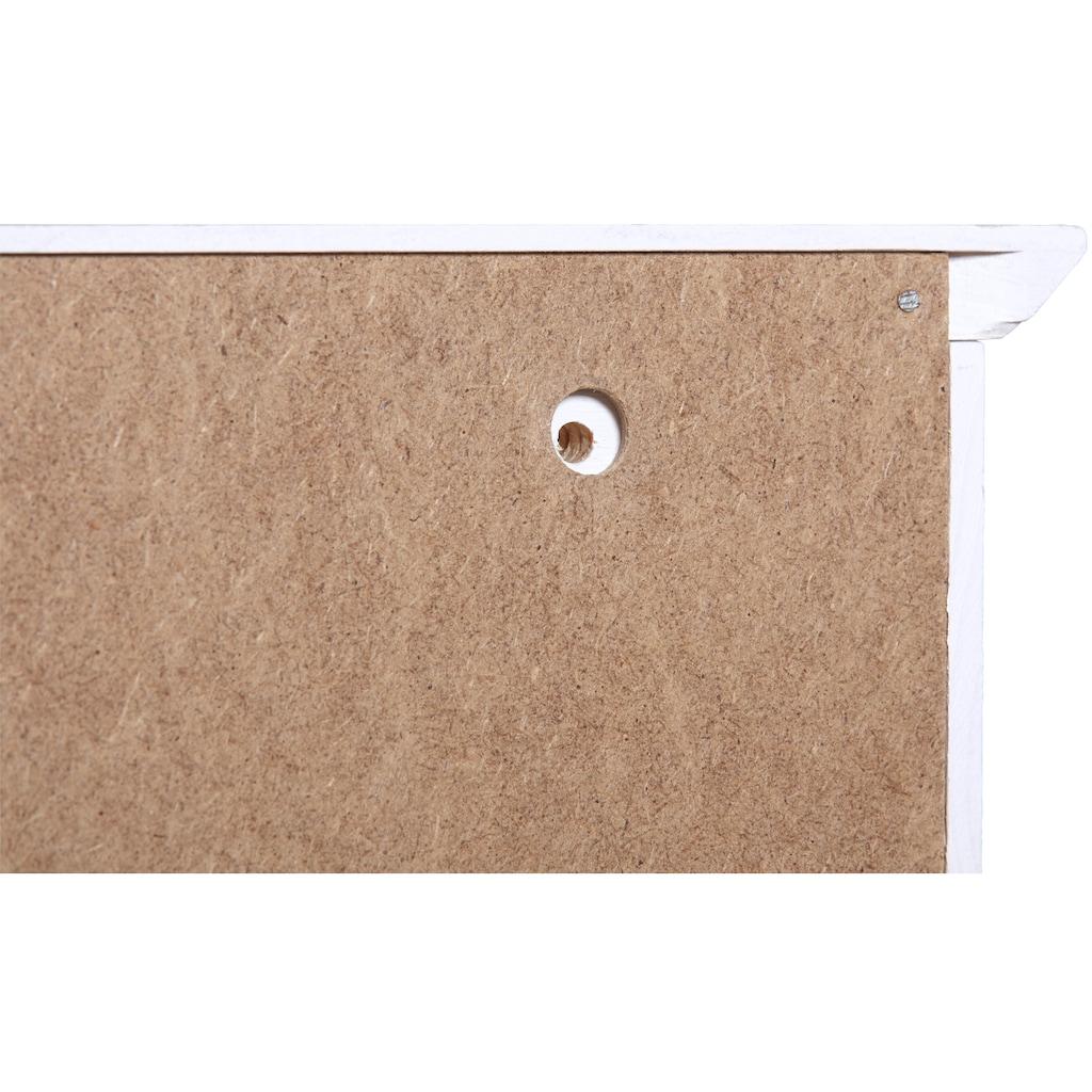welltime Hängeschrank »Sund«, Breite 33 cm, mit Porzellanknäufen