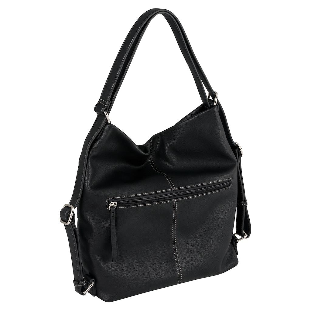 Gabor Cityrucksack »Leonie«, auch als Handtasche tragbar