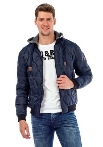 Cipo & Baxx Steppjacke, mit sportlicher Kapuze kaufen