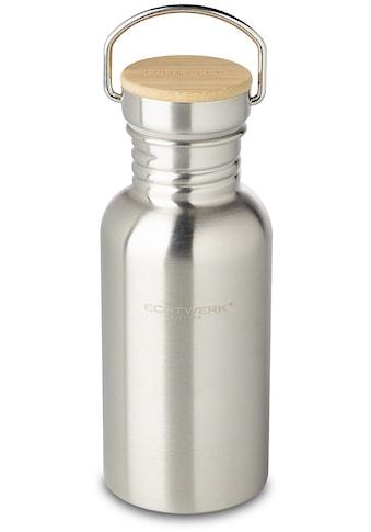 ECHTWERK Trinkflasche, Bambusdeckel kaufen