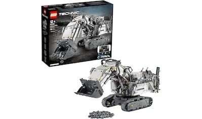 LEGO® Konstruktionsspielsteine »Liebherr Bagger R 9800 (42100), LEGO® Technic«, (4108 St.) kaufen