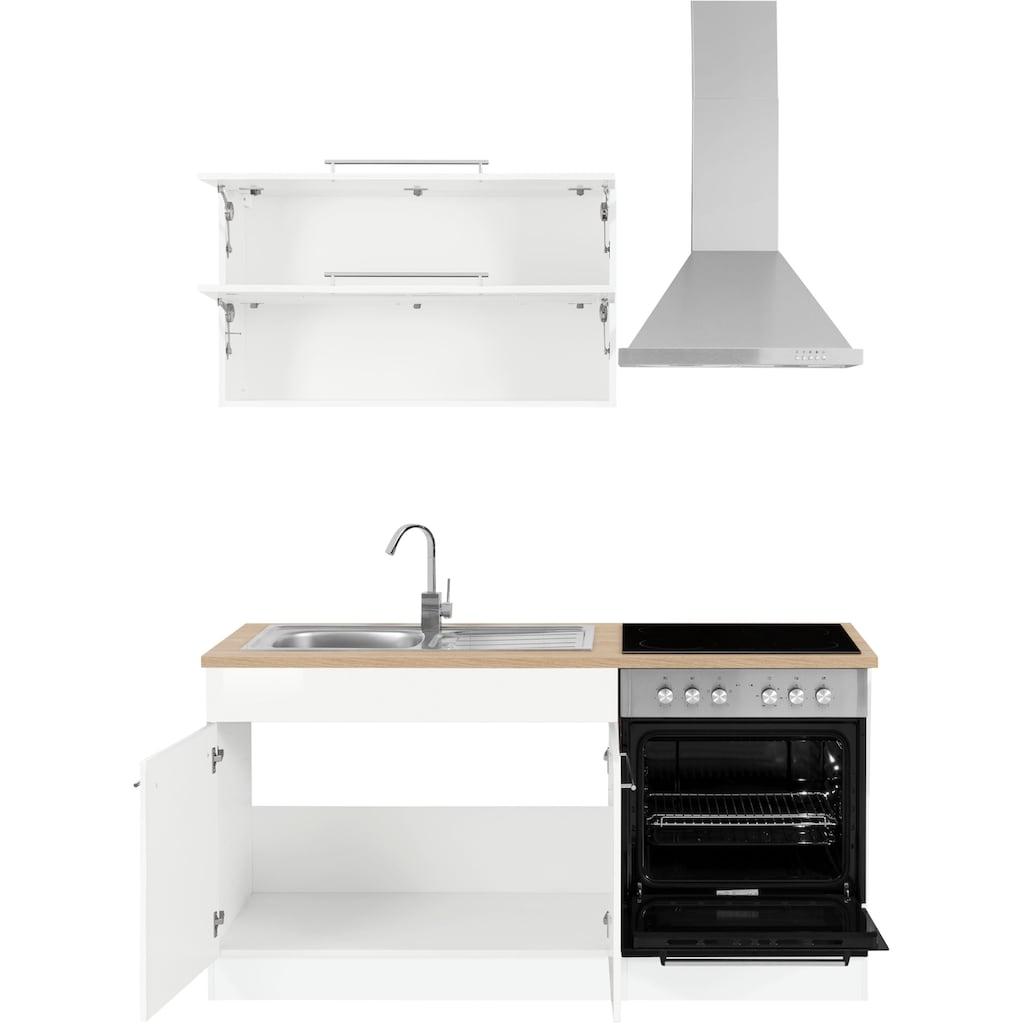 HELD MÖBEL Küchenzeile »Eton«, ohne E-Geräte, Breite 160 cm