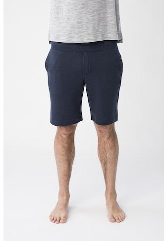 SUPER.NATURAL Shorts »M KNITTED SHORTS«, atmungsaktiver Merino-Materialmix kaufen