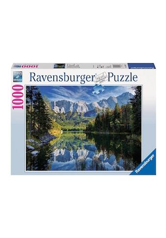 """Ravensburger Puzzle """"Eibsee mit Wettersteingebirge und Zugspitze"""" kaufen"""