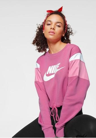 Nike Sportswear Sweatshirt »Nike Sportswear Heritage Women's Fleece Crew« kaufen