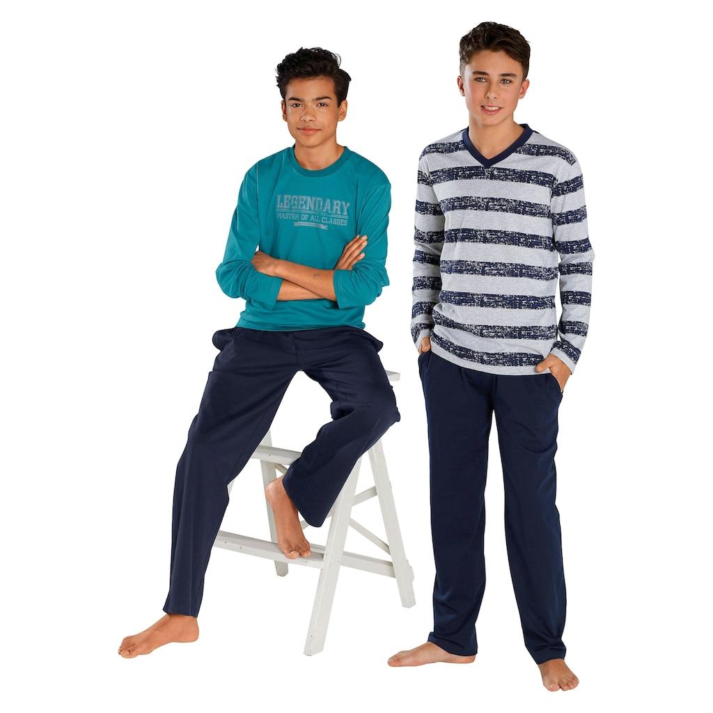 le jogger® Pyjama (2-tlg., 2 Stück)