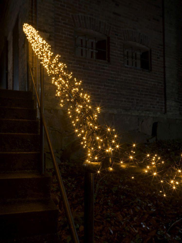 KONSTSMIDE LED Dekolicht, Warmweiß, Micro LED Büschellichterkette Cluster, günstig online kaufen
