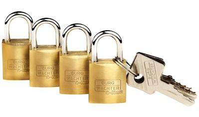 Burg Wächter Vorhängeschloss »Quadro 222 15 SB« kaufen