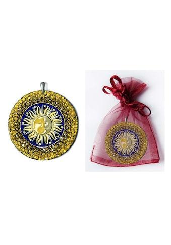 Adelia´s Amulett »925 Silber Bernstein Talisman«, Sonne - Mond - Ausgeglichenheit und... kaufen