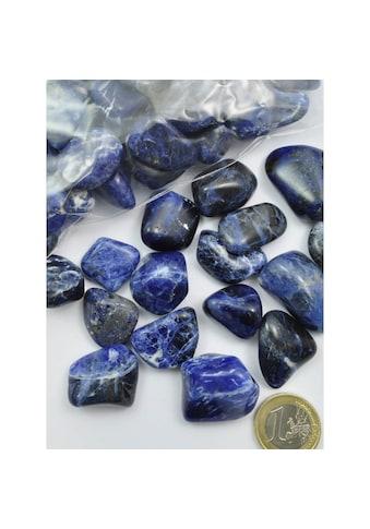 Adelia´s Kettenanhänger »Sodalit Trommelstein / Mineralie Stern« kaufen