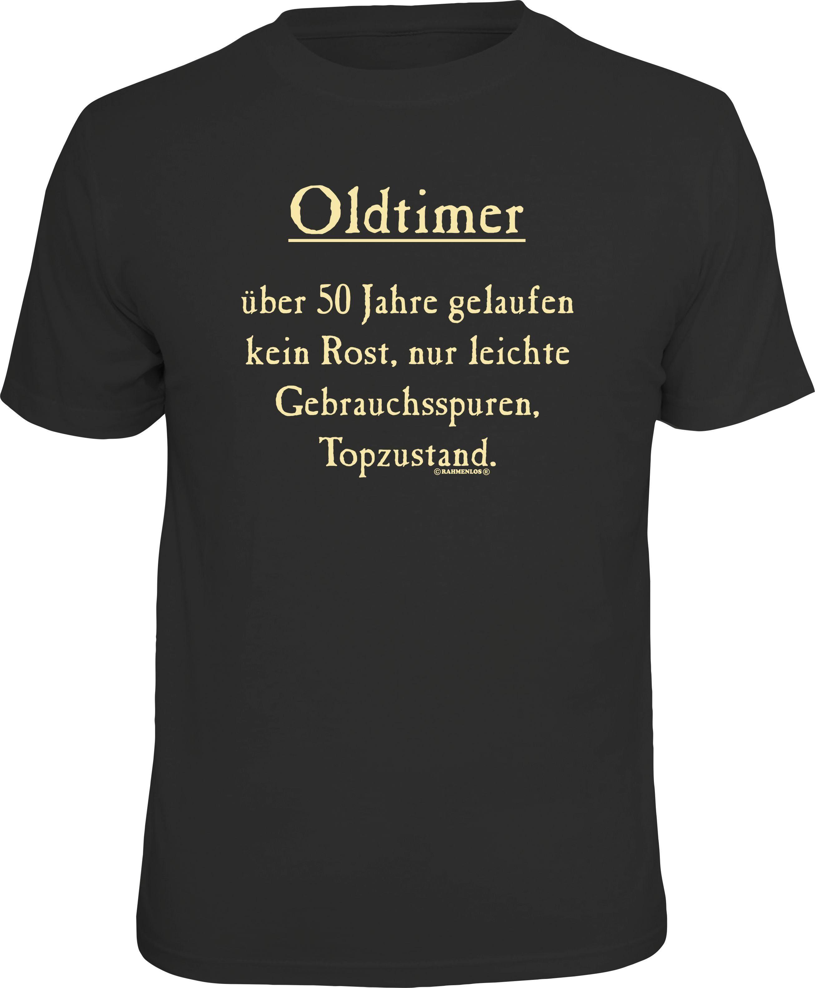 Rahmenlos T-Shirt  Oldtimer, über 50 Jahre gelaufen - Topzustand  Preisvergleich