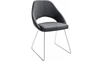 MCA furniture Kufenstuhl, 2er-Set, Stuhl bis 120 Kg belastbar kaufen