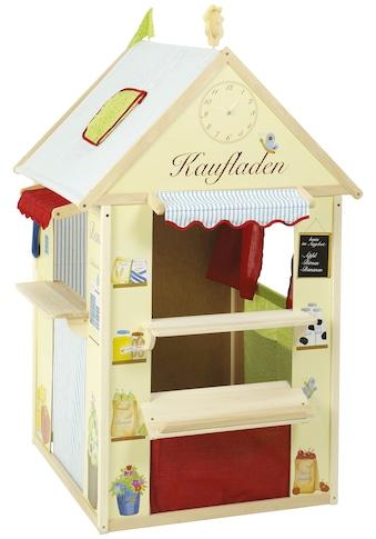 roba® Spielhaus »Kombination«, Maße: LxB: 94,5x82,5cm, Kaufladen, Post, Kiosk oder... kaufen