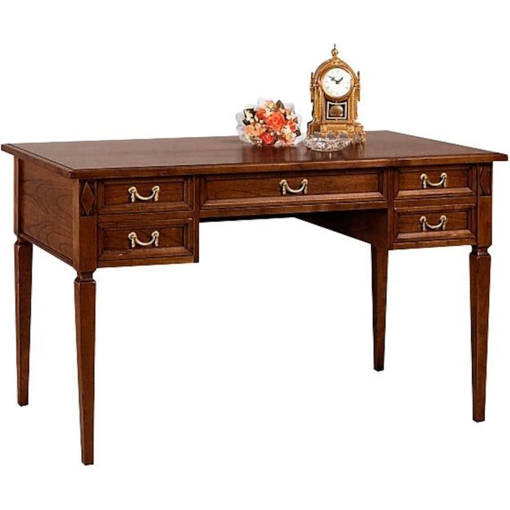 SELVA Schreibtisch »Villa Borghese«, Modell 6371, Breite 131 cm