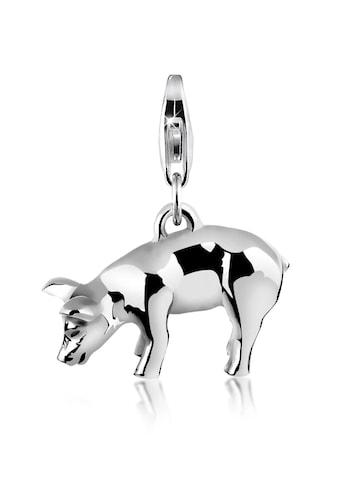 Nenalina Charm-Einhänger »Anhänger Schwein Ferkel 925 Silber« kaufen