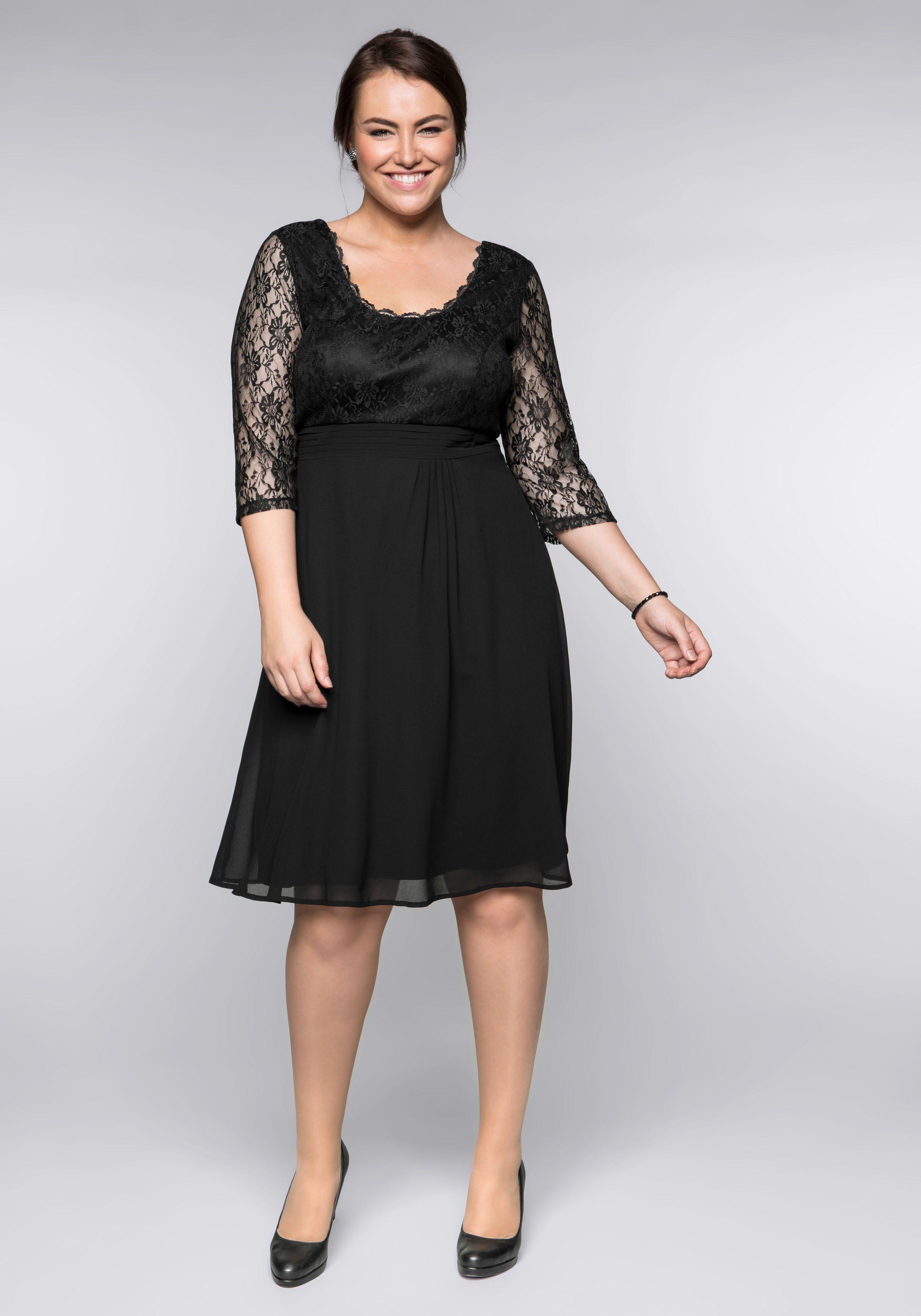 Sheego Style Sheego Abendkleid Damenmode/Bekleidung/Kleider/Abendkleider