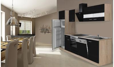 RESPEKTA Küchenzeile »Hamburg«, mit E-Geräten, Breite 280 cm kaufen