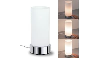 Paulmann,Nachttischlampe»Pinja mit Touchdimmer Chrom Opal Metall Glas max. 40W E14«, kaufen