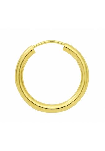Adelia´s Paar Ohrhänger »333 Gold Ohrringe / Creolen Ø 30 mm«, 333 Gold Goldschmuck... kaufen