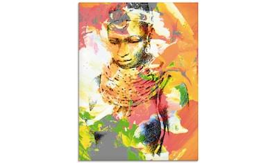 Artland Glasbild »Afrikanerin« kaufen