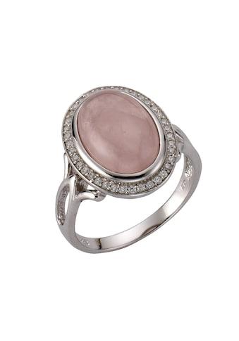 Zeeme Ring »925/ -  Sterling Silber Rosenquarz« kaufen