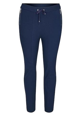 Rabe Stretch-Hose, mit unifarbenem Stoff und Galonstreifen kaufen