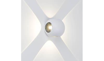 AEG Gus LED Außenwandleuchte 4flg weiß kaufen