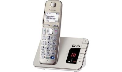Panasonic »KX - TGE220GN« Schnurloses DECT - Telefon (Mobilteile: 1) kaufen
