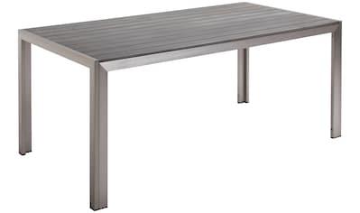 BEST Gartentisch »Seattle«, Aluminium, LxB: 180x90 cm kaufen