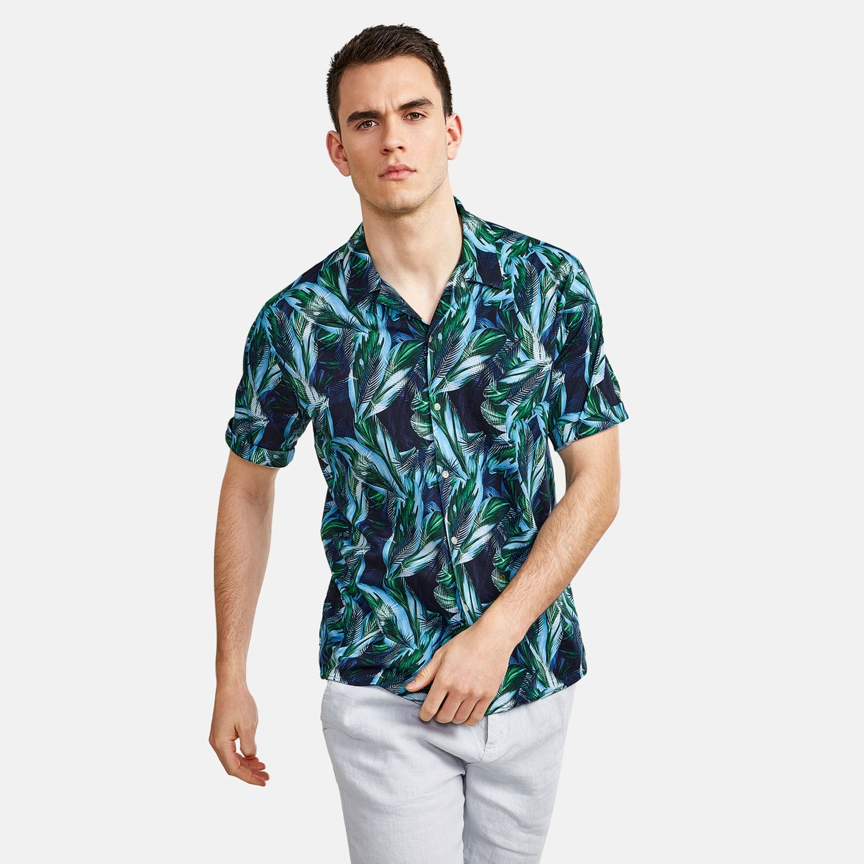 NEW IN TOWN Hawaiihemd Floral   Bekleidung > Hemden > Hawaiihemden   Nescafé Dolce Gusto