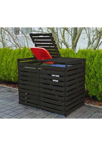 promadino Mülltonnenbox »Vario V«, für 2 x 240 l, anthrazit kaufen