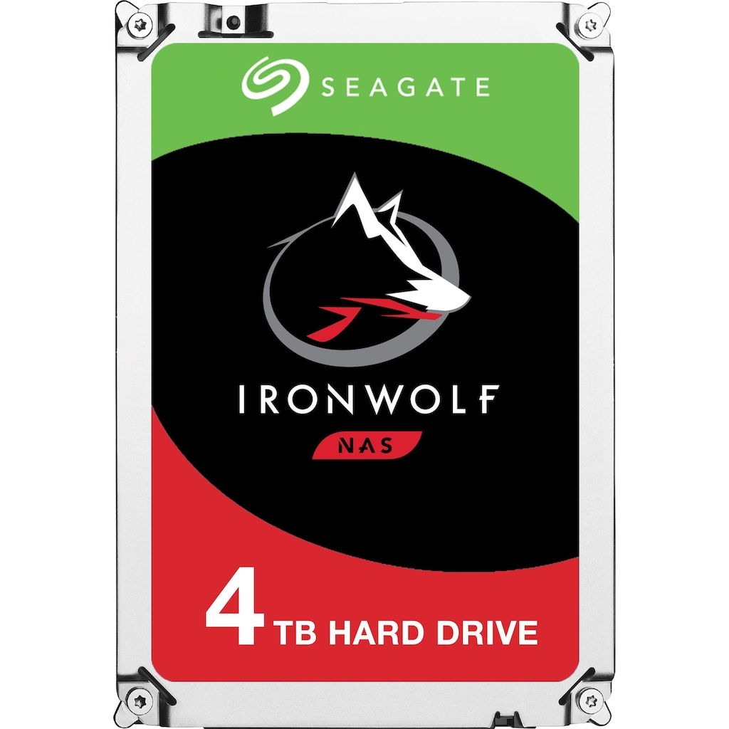 Seagate HDD-NAS-Festplatte »IronWolf«, Bulk, inkl. 3 Jahre Rescue Data Recovery Services